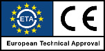 CE European Technical Approval