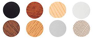 TTC: TAPA-TORNILLO DE PVC, ADHESIVO, Ø 13. SELF-ADHESIVE PVC SCREW COVERS, Ø 13. CACHE-VIS EN PVC ADHÉSIFS Ø13.