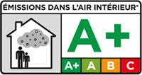 Emisiones a la atmósfera de interior A+ / Emissions in indoor air A+ / Émissions dans loir intérieur A+