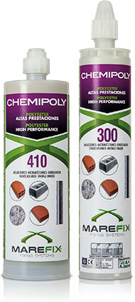 CHEMIPOLY: Polyester 300/410 ml.