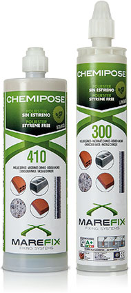 CHEMIPOSE: Polyester 300/410 ml.