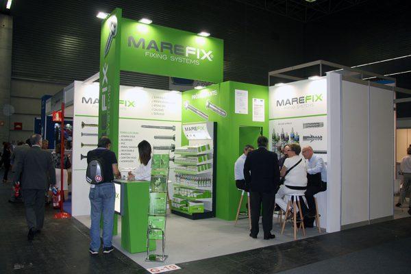 Stand de Marefix en la feria Ferroforma 2017 de Bilbao.