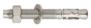 A4-BZ2-INOX A4: Anclaje macho, para cargas altas, inoxidable a4. Through bolt anchor for heavy loads, stainless steel a4. Goujon d'ancrage pour charges lourdes, inoxydable a4.