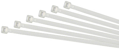BR-BLANCA: BRIDAS DE NYLON, POLIAMIDA 6.6, COLOR NATURAL / BLANCO. CABLE TIES, POLYAMIDE 6.6, WHITE COLOUR. COLLIER DE SERRAGE, POLYAMIDE 6.6, BLANC COULEUR