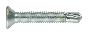 TPVC-50: TORNILLO BROCA, CABEZA AVELLANADA, PARA PVC, ROSCA MÉTRICA, Ø CABEZA 7,5 mm. TPVC-50: SELF DRILLING SCREW FOR PVC, COUNTERSUNK HEAD, METRIC THREAD, HEAD Ø 7,5 mm. TPVC-50: VIS TÊTE FRAISÉE POUR PVC, FILETAGE MÉTRIQUE, TÊTE Ø 7,5 mm.