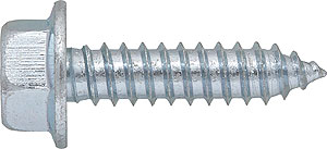 TAU: TORNILLO AUTORROSCANTE, CABEZA HEXAGONAL, CON ARANDELA ESTAMPADA. SELF TAPPING SCREW, HEXAGON WASHER HEAD. VIS AUTOTARAUDEUSE AVEC PRE-PERÇAGE. TÊTE HEXAGONALE À COLLERETTE