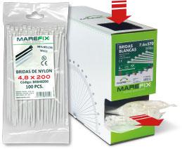 Marefix: bolsa bridas y caja master