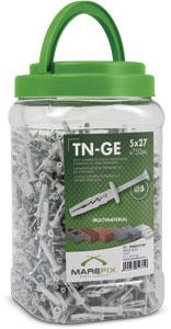 TN-GE-BP: BOTE DE PLÁSTICO</strong> PLASTIC CUBE / CUBE EN PLASTIQUE