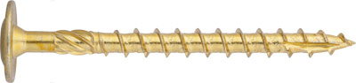 "TTX-CAB: TIRAFONDO CABEZA ANCHA, HUELLA TX, AUTOTALADRANTE PUNTA ""TYPE 17"". TX WASHER HEAD CHIPBOARD SCREWS WITH SERRATION AND DRILLING POINT ""TYPE 17"". VIS À BOIS, TX, TÊTE LARGE, AVEC SERRAGE ET POINTE FOREUSE ""TYPE 17""."
