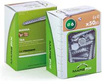Marefix: caja con ventana TBA DIN-571