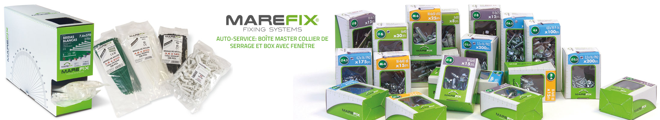 MAREFIX, FIXING SYSTEMS