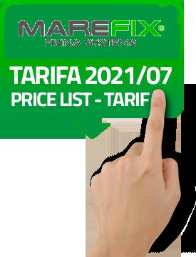 Descargar Tarifa 2021/07 Marefix PDF